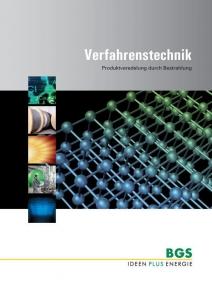 BGS Brochure: Prozesstechnologie